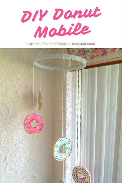 DIY Donut Mobile