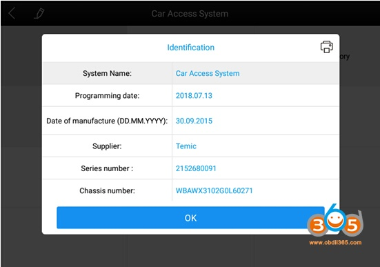 XTOOL-A80-BT-диагностика-BMW-X3-2