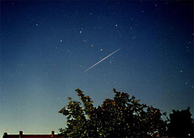 Iridium Satellite 54 - Photo by Christoph Lohuis.