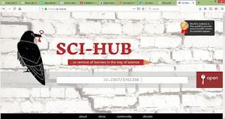 Download Jurnal berbayar dengan gratis melalui SCI-HUB