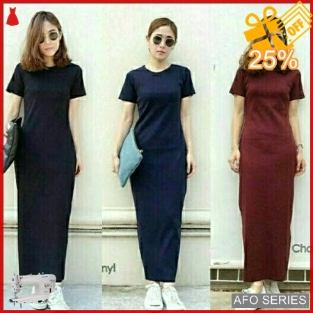AFO066 Model Fashion Elsa Plaint Maxi Modis Murah BMGShop