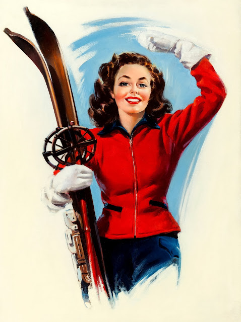 Winter Sports Moment by Howard Connolly