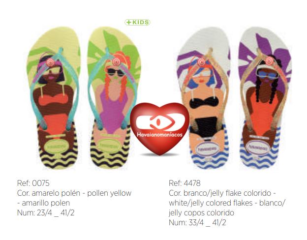 80d35d4cd0 Se tem chinelos top cool super coloridos