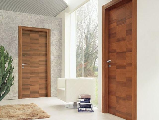 Puertas modernas de interior for Puertas en madera entrada principal