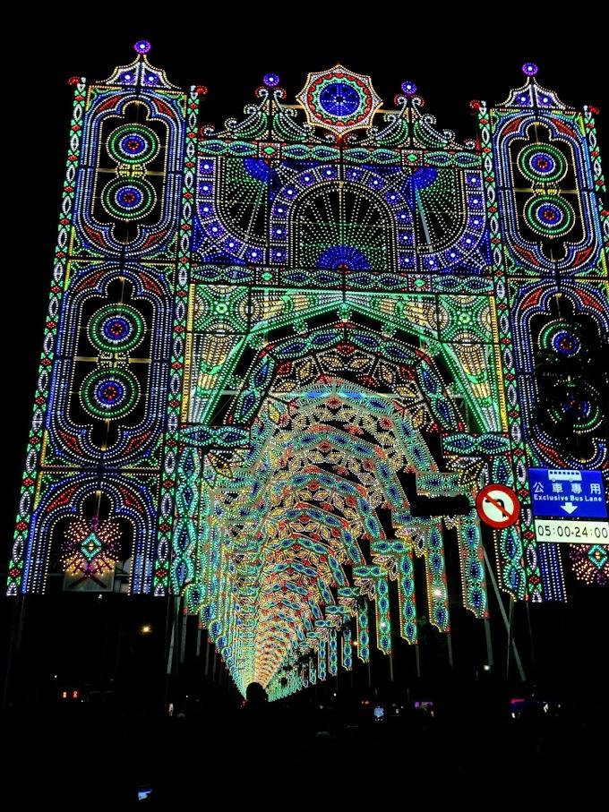 【台北市政府廣場前面】2019 台北光之饗宴,世界級Luminarie光雕秀