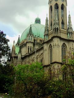 Vista Lateral da Cúpula da Catedral da Sé