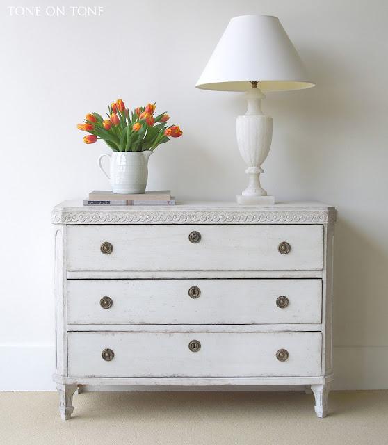 Exquisite antique Swedish chest from Tone on Tone Antiques #Swedishantique