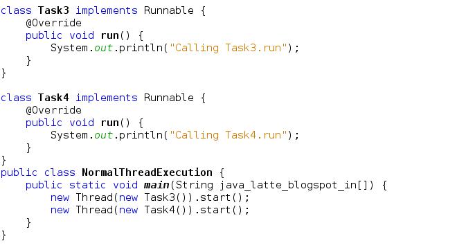 Java-Latte: Executor, ExecutorService, ThreadPool, Callable