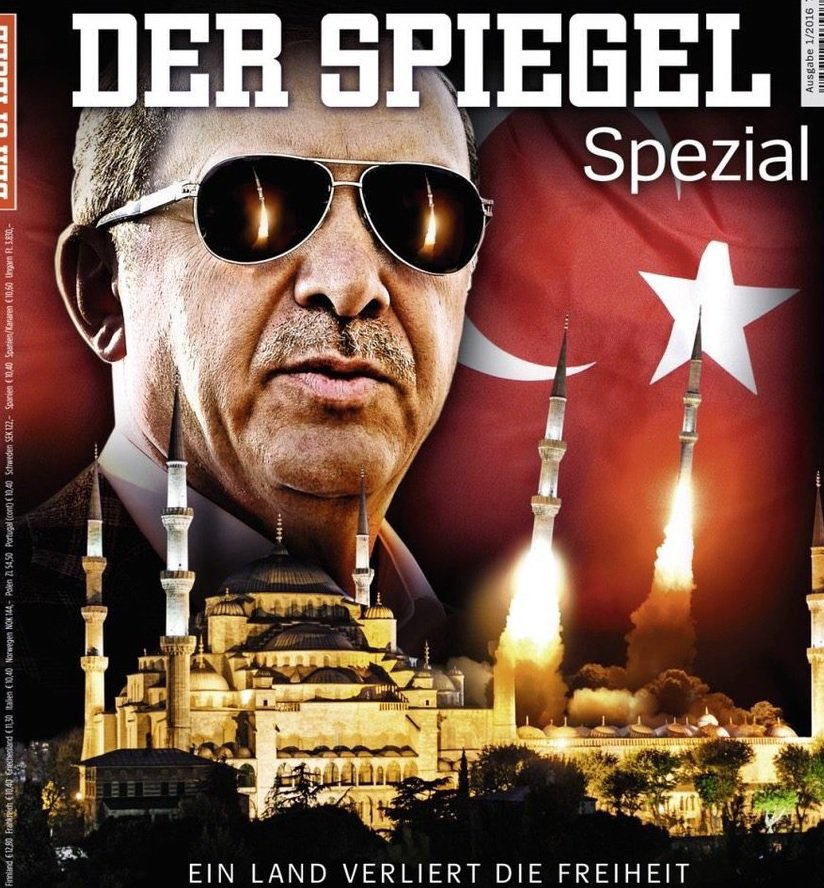Eye on the world turkey germans upset the turks with for Spiegel magazi