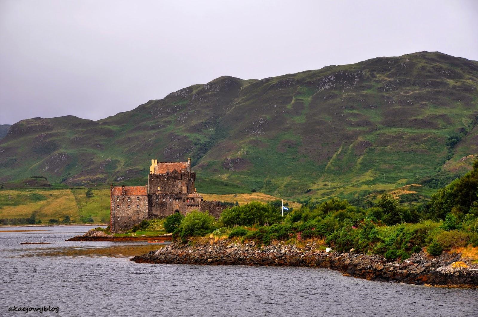 Spektakularne szkockie zamki - Eilean Donan.