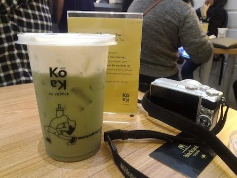Yuk Cobain Koka Cheese Tea yang Yummy dari Loffle Pop Up Dessert