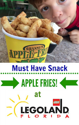 The Must Order Snack at Legoland Florida - Granny's Apple Fries
