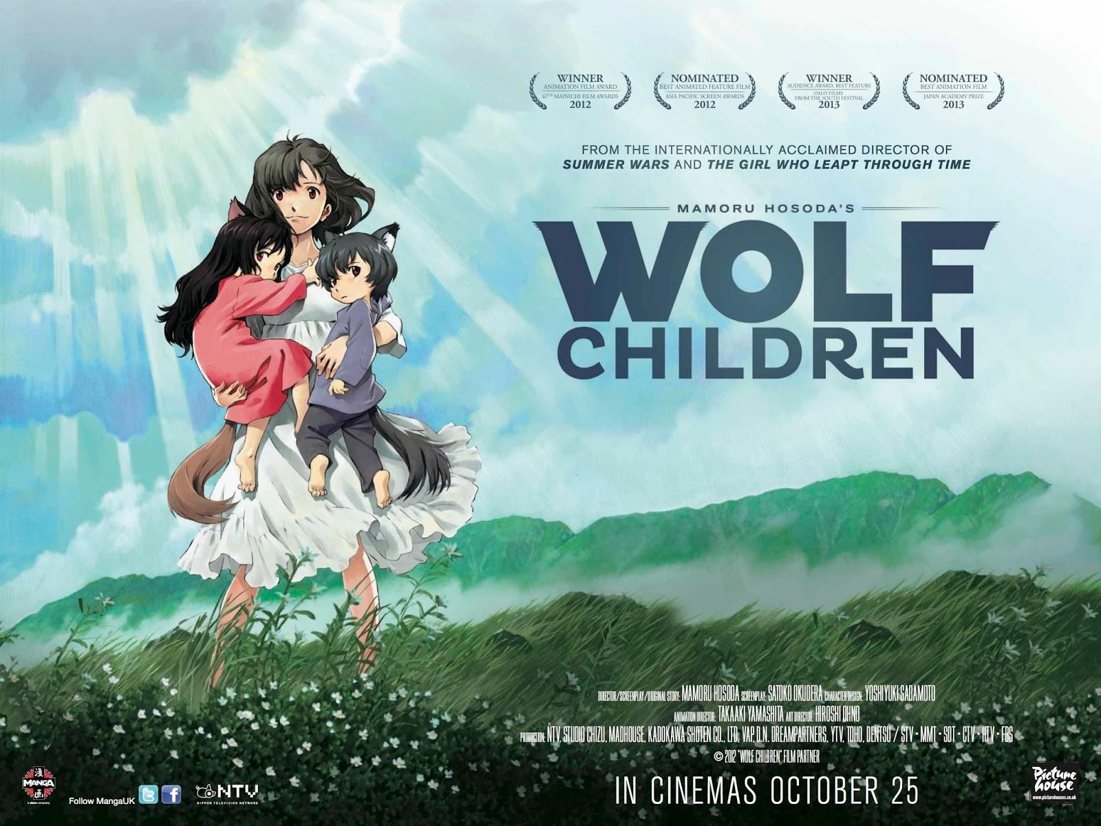 Pelis y Anime Latino  Descargar Los Niños Lobo   The Wolf Children ... 03879124c21