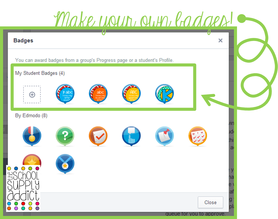 Creating Custom Badges in Edmodo