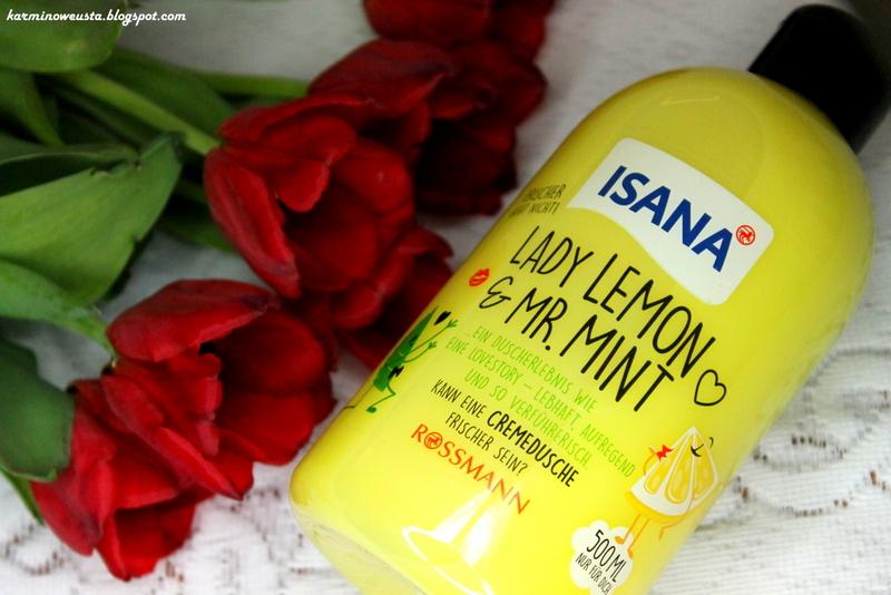 Isana Lady Lemon and Mr Mint kremowy żel pod prysznic