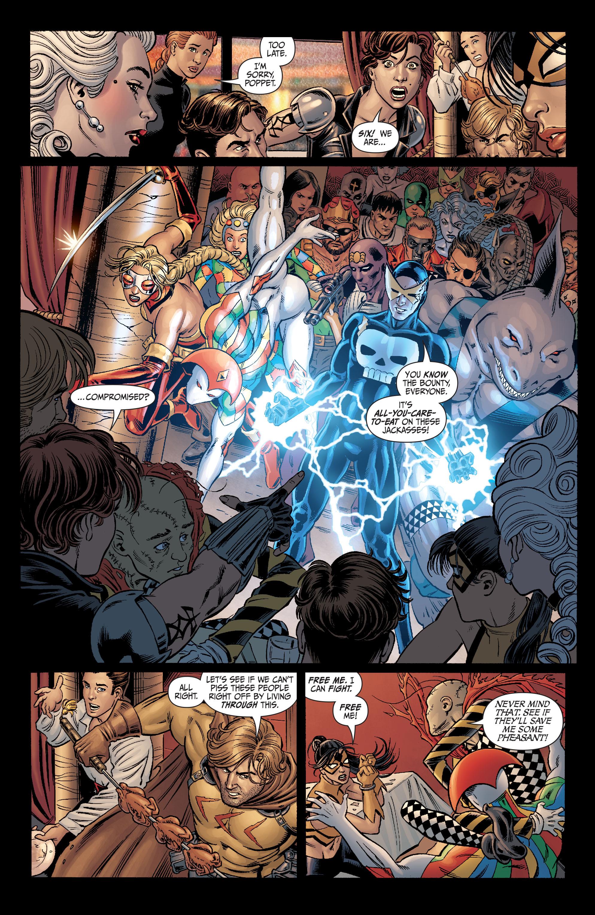 Read online Secret Six (2008) comic -  Issue #4 - 21