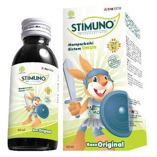 STIMUNO Sirup 60 ml + 100 ml & Stick Pack untuk balita
