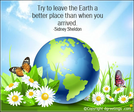 Most beautiful Quotes of Earth day 2018