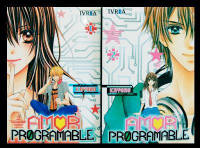 portadas amor programable 2 tomos