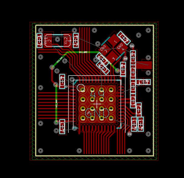 ludzinc: nrf51822 QFN48 Reference Design