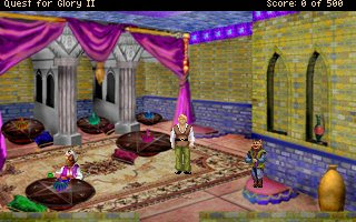 Pantallazo Quest for Glory II Remake AGDI