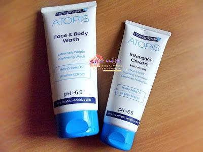 Kosmetyki specjalistyczne NOVA Clear atopis do skóry suchej, wrażliwej i atopowej.