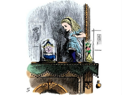 Alice Through the Looking Glass-john tenniel