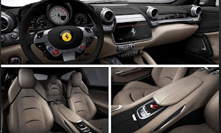 2016 Ferrari GTC4Lusso Cabin Interior and Seats