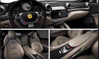 2016 Ferrari GTC4Lusso Cabin Interior and Seats