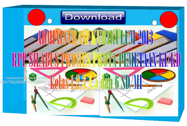 RPP Silabus KKM Promes Prota Administrasi Kurikulum 2013 SD/MI