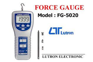 Darmatek Jual Lutron FG-5020 Force Gauge, Timbangan 20 Kg