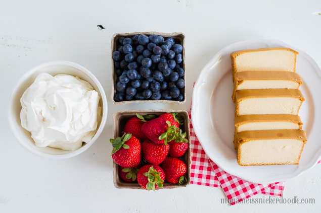 Patriotic Fruit Trifle.  A perfect dessert recipe for the 4th of July!  |  mynameissnickerdoodle.com