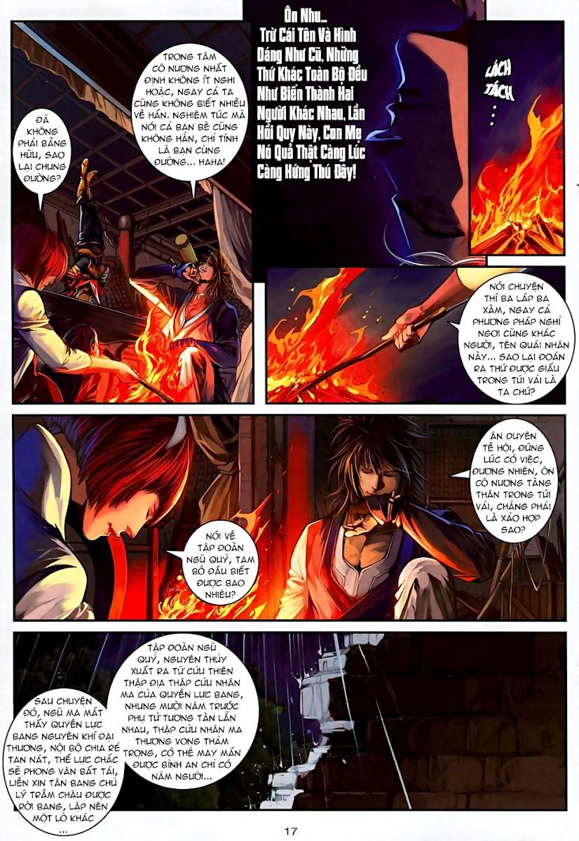 Ôn Thuỵ An Quần Hiệp Truyện Phần 2 chapter 6 trang 17
