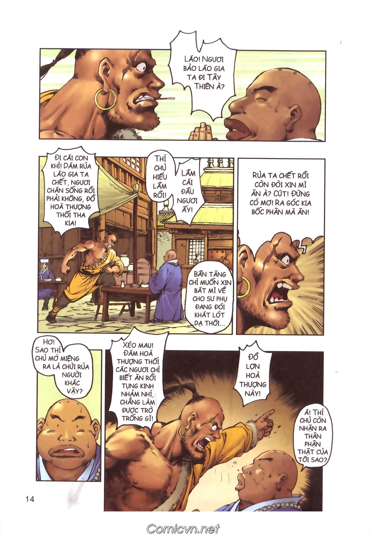 Tây Du Ký màu - Chapter 110 - Pic 12