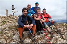 Peña las Doce mendiaren gailurra 1.255 m. - 2017ko uztailaren 2an