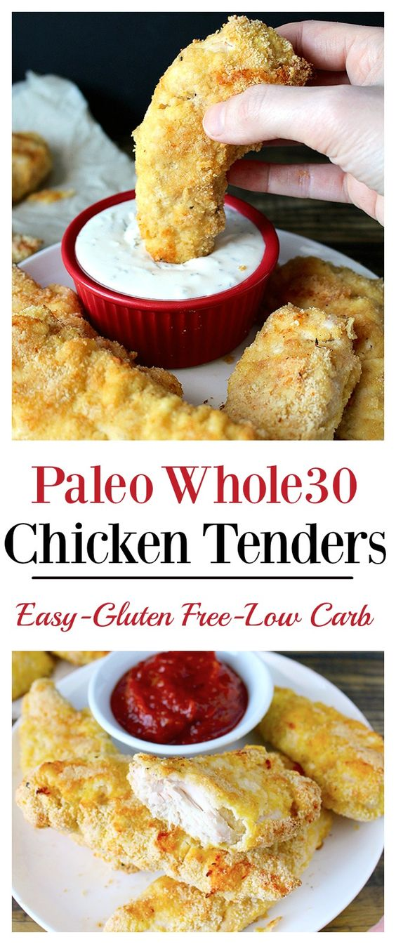 ★★★★☆ 7561 ratings | PALEO WHOLE30 CHICKEN TENDERS #HEALTHYFOOD #EASYRECIPES #DINNER #LAUCH #DELICIOUS #EASY #HOLIDAYS #RECIPE #PALEO #WHOLE30 #CHICKEN #TENDERS