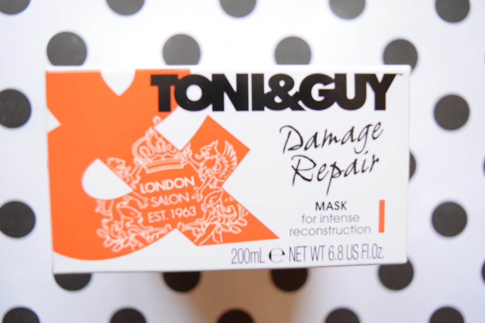 Toni & guy damage repair mask