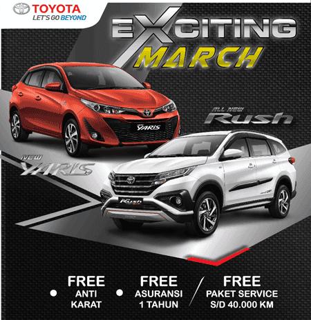 Promo Toyota Tangerang, Jakarta, Depok, Bekasi 2018