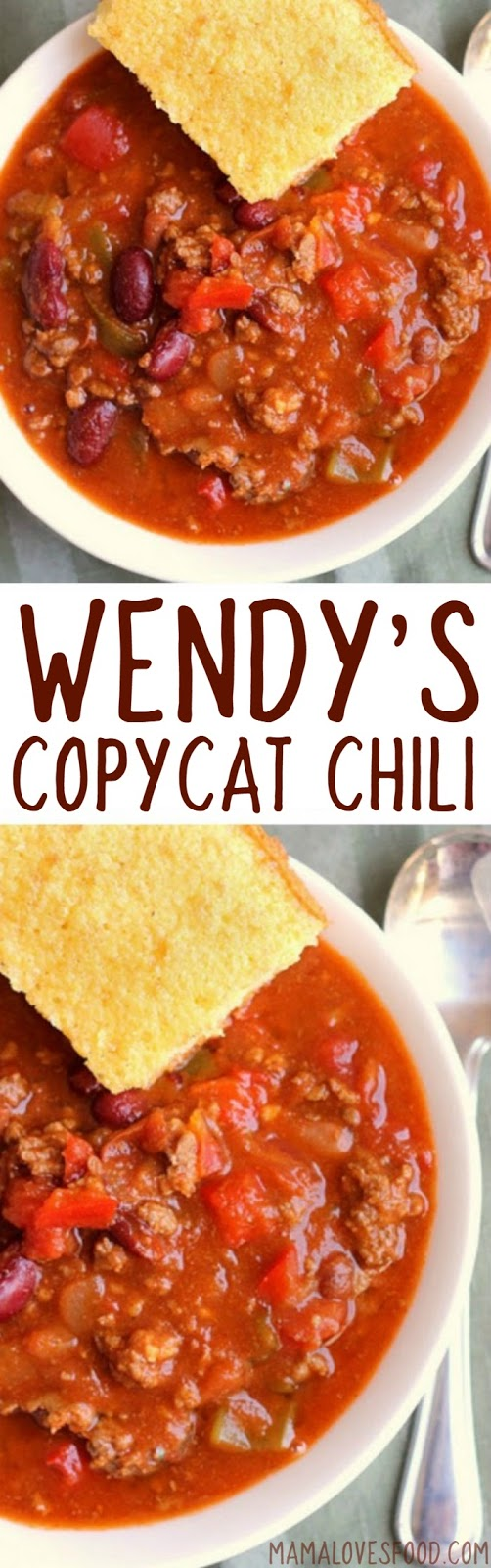 Mama Loves Food Wendy S Chili Copycat Recipe How To