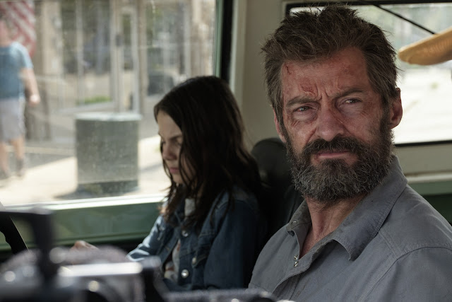 Logan - Dafne Keen, Hugh Jackman