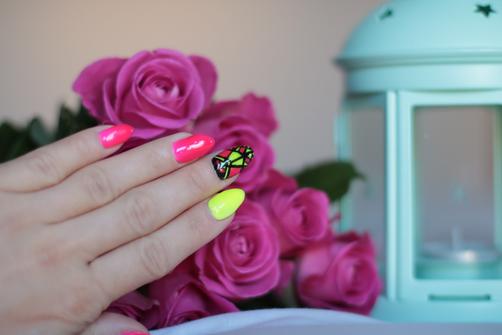Spring - Summer Nails ! Neonowe Pazurki
