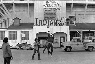 Ocupación isla de Alcatraz Indios americanos