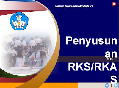 Download Panduan Penyusunan RKS-RKAS PPT-Berkas Sekolah