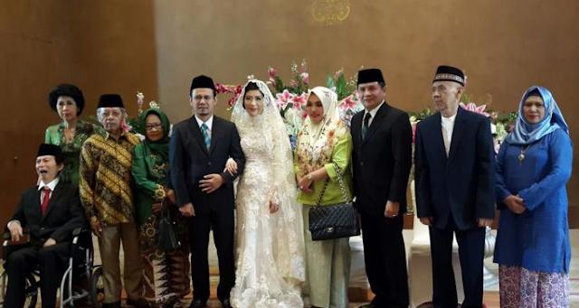 Terkonfirmasi, Mahfudz Siddiq Nikahi Agatha Lily Didampingi Istri