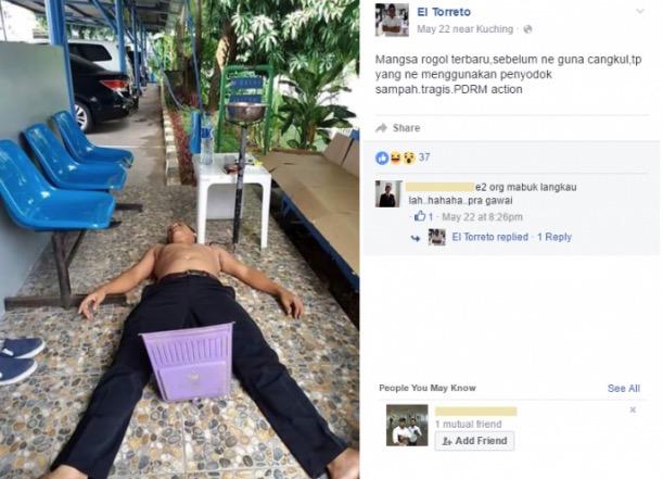 Pembunuhan Kejam Dijolok Cangkul Jadi Bahan Lawak Di Facebook