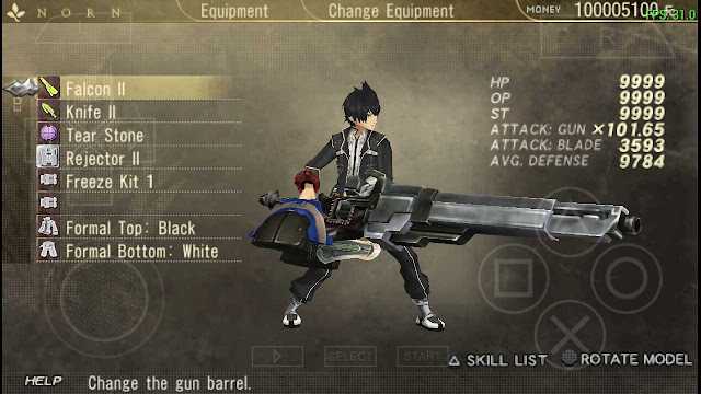 cw cheat god eater psp android