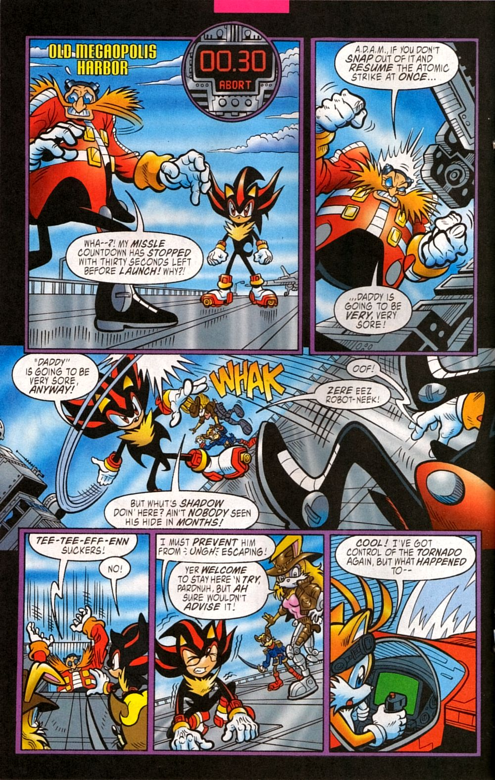 Read online Sonic The Hedgehog comic -  Issue #133 - 18
