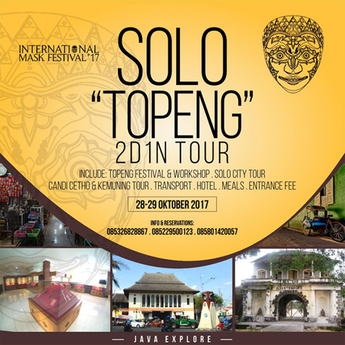 Wisata Topeng Solo 2017