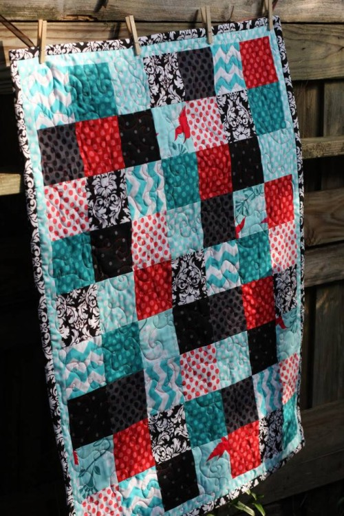 Basic Block Quilt - Tutorial