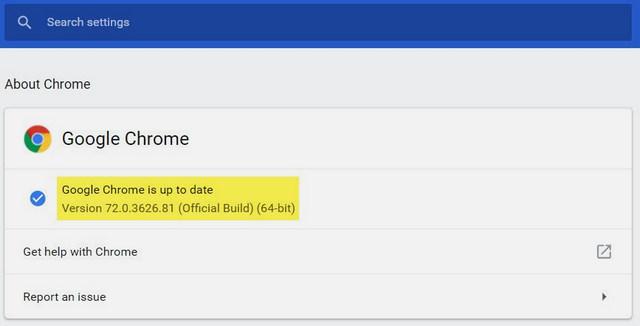 تحميل متصفح Google Chrome 72 أوفلاين لجميع أنظمة التشغيل